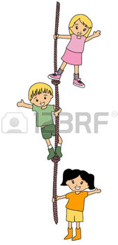 1842441-illustration-de-kids-climbing-rope